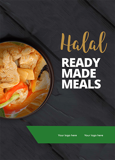 Halal Ready Made Meals Brochure